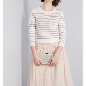 ModCloth. Current season. Sweater and Tulle dress